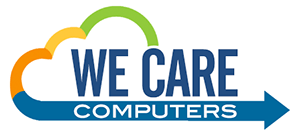 logo we care computers