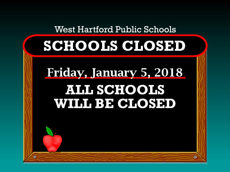 WHPS School Closed Alert 1 5 18